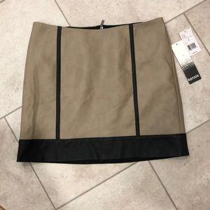 Kensie Leather Mini Skirt - NWT